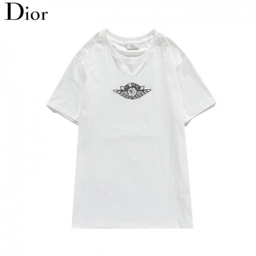 Christian Dior T-Shirts Short Sleeved O-Neck For Men #804917