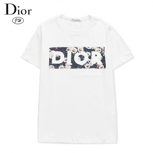 Christian Dior T-Shirts Short Sleeved O-Neck For Men #804927