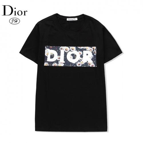 Christian Dior T-Shirts Short Sleeved O-Neck For Men #804928