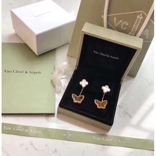 Van Cleef & Arpels Earrings #805128 $38.80 USD, Wholesale Replica Van Cleef & Arpels Earrings