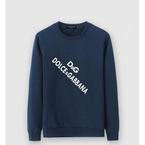 Dolce & Gabbana D&G Hoodies Long Sleeved O-Neck For Men #805193