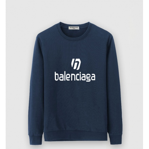 Balenciaga Hoodies Long Sleeved O-Neck For Men #805219
