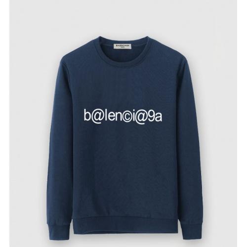 Balenciaga Hoodies Long Sleeved O-Neck For Men #805236