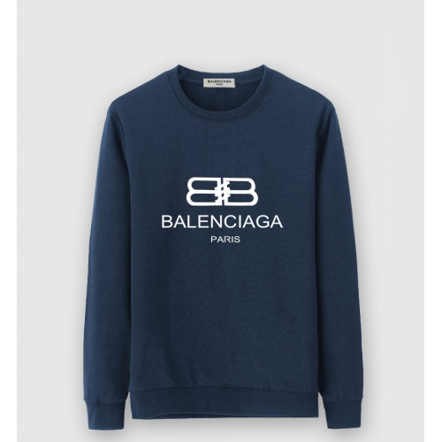 Balenciaga Hoodies Long Sleeved O-Neck For Men #805241