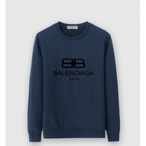 Balenciaga Hoodies Long Sleeved O-Neck For Men #805243