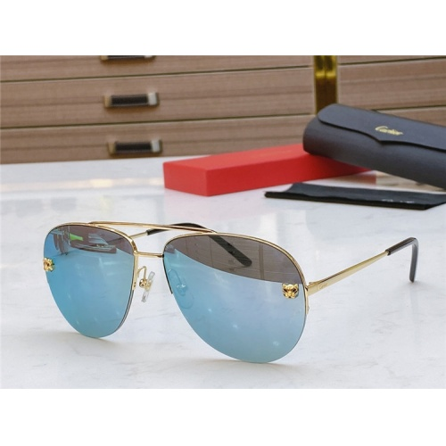 Cartier AAA Quality Sunglasses #805389