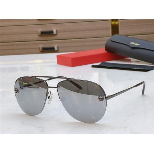 Cartier AAA Quality Sunglasses #805390