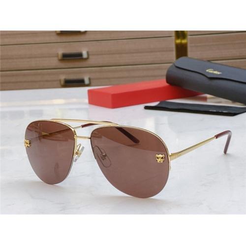 Cartier AAA Quality Sunglasses #805391