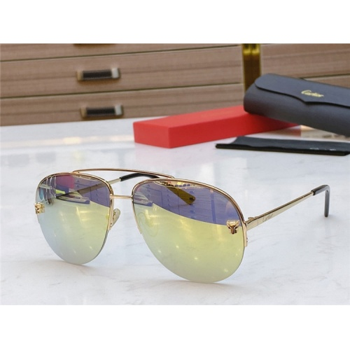 Cartier AAA Quality Sunglasses #805392