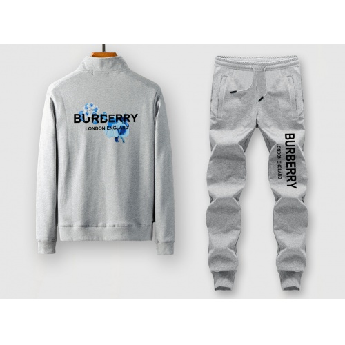 Burberry Tracksuits Long Sleeved Zipper For Men #805394