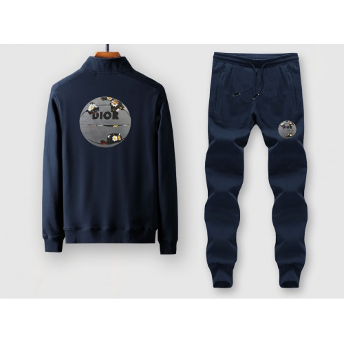 Christian Dior Tracksuits Long Sleeved Zipper For Men #805408 $79.54, Wholesale Replica Christian Dior Tracksuits