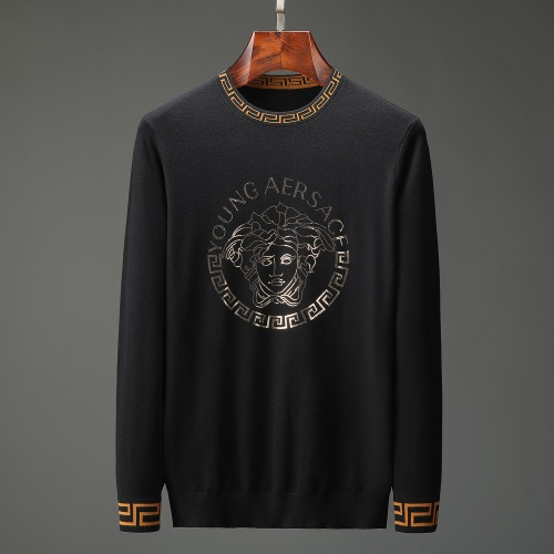 Versace Sweaters Long Sleeved O-Neck For Men #805481