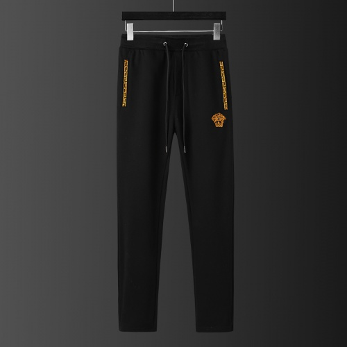Replica Versace Tracksuits Long Sleeved Zipper For Men #805611 $77.60 USD for Wholesale