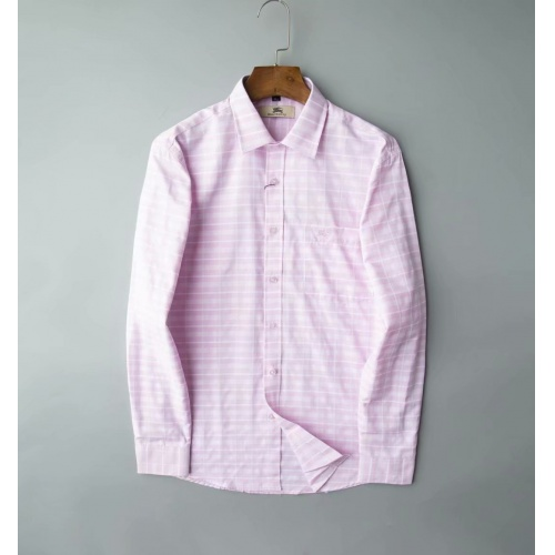 Burberry Shirts Long Sleeved Polo For Men #805619