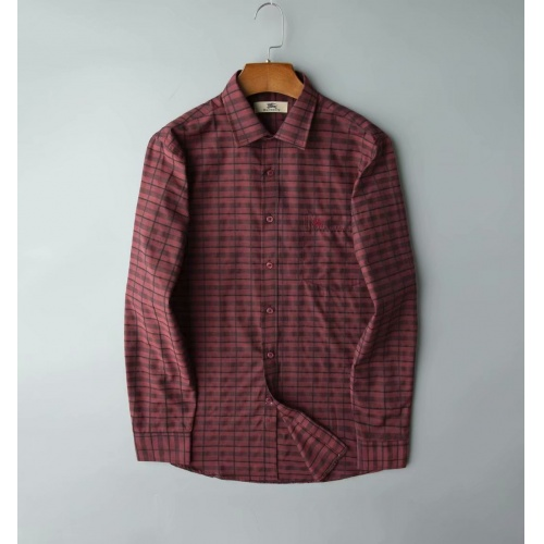 Burberry Shirts Long Sleeved Polo For Men #805620