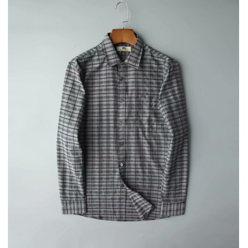 Burberry Shirts Long Sleeved Polo For Men #805622