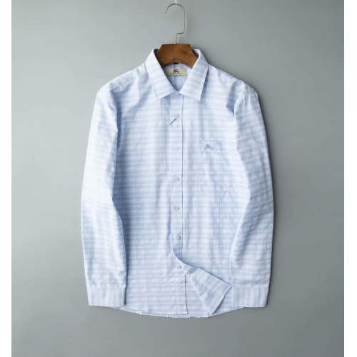 Burberry Shirts Long Sleeved Polo For Men #805623