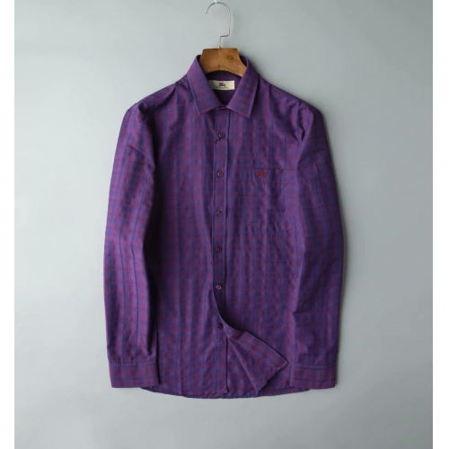 Burberry Shirts Long Sleeved Polo For Men #805624