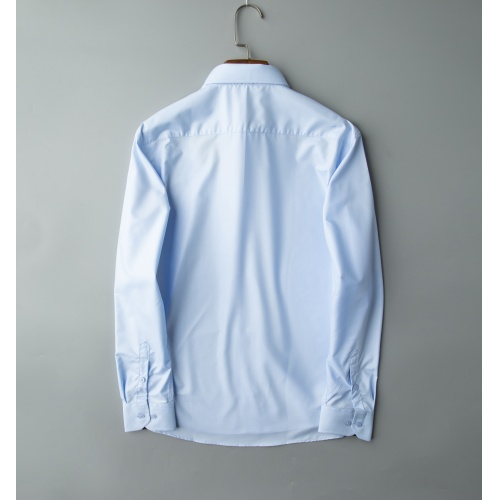 Replica Thom Browne TB Shirts Long Sleeved Polo For Men #805627 $32.98 USD for Wholesale