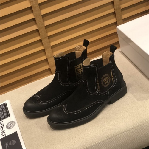 Versace Boots For Men #805684