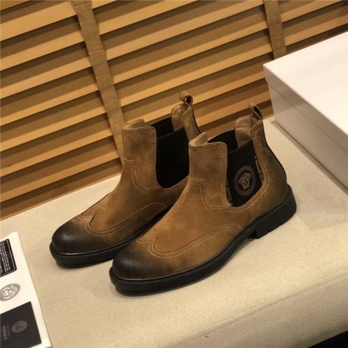 Versace Boots For Men #805685