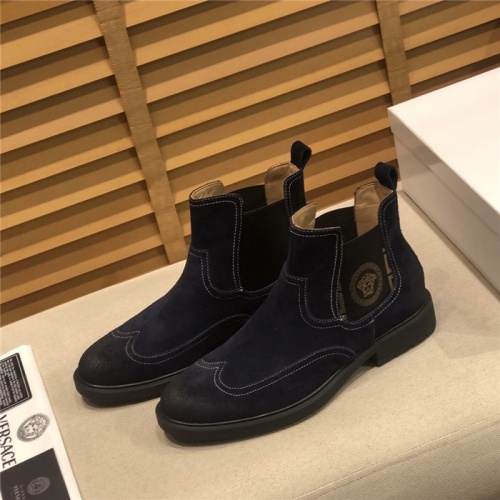 Versace Boots For Men #805686