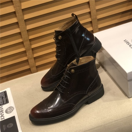 Versace Boots For Men #805688