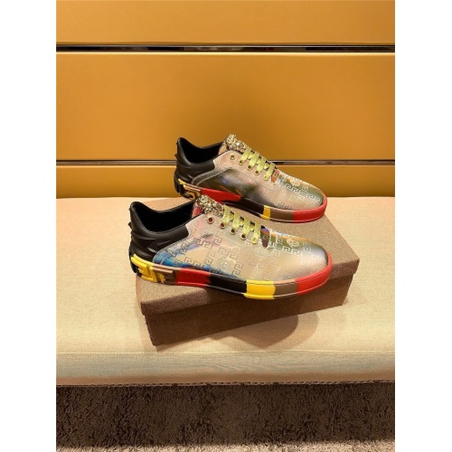 Versace Casual Shoes For Men #805691 $65.96, Wholesale Replica Versace Casual Shoes