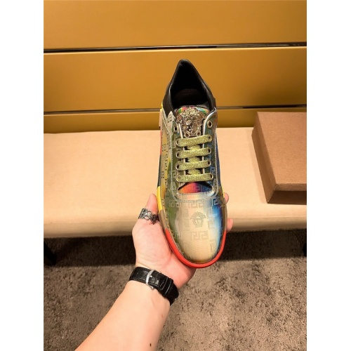 Replica Versace Casual Shoes For Men #805691 $65.96 USD for Wholesale