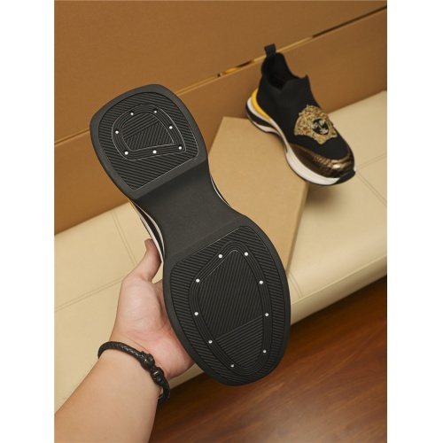 Replica Versace Casual Shoes For Men #805694 $65.96 USD for Wholesale