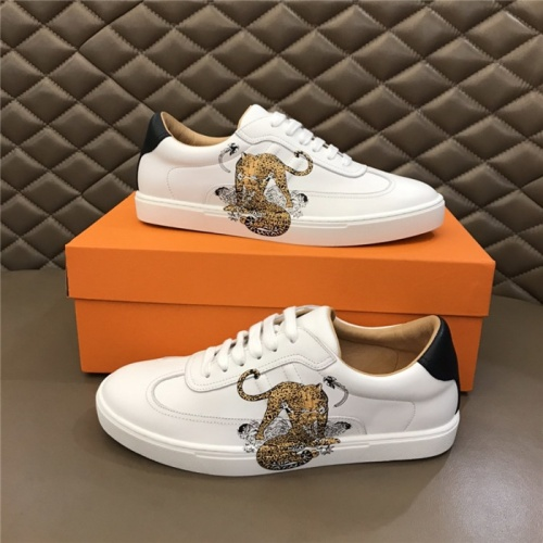 Hermes Casual Shoes For Men #805739 $77.60 USD, Wholesale Replica Hermes Casual Shoes