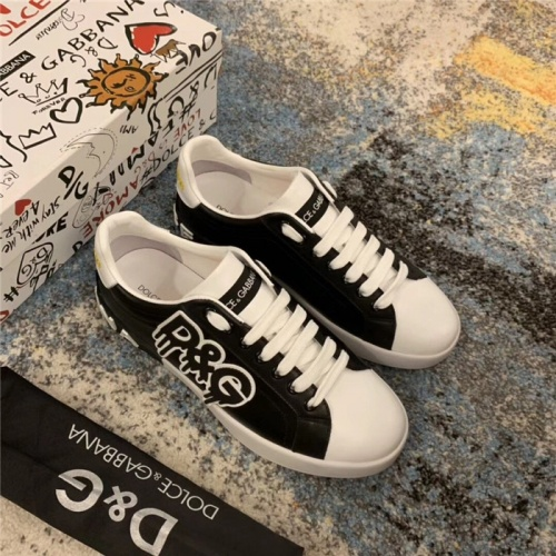 Dolce & Gabbana D&G Casual Shoes For Men #805746