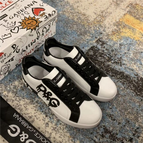 Dolce & Gabbana D&G Casual Shoes For Men #805747