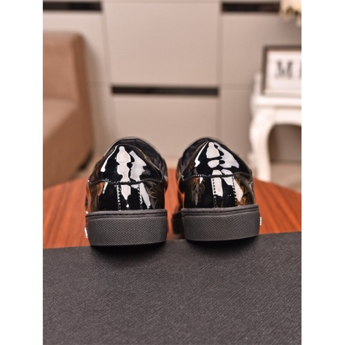 Replica Philipp Plein PP Casual Shoes For Men #805753 $73.72 USD for Wholesale