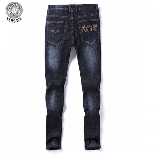 Replica Versace Jeans Trousers For Men #805872 $40.74 USD for Wholesale