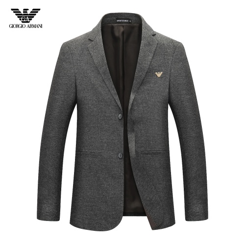 Armani Suits Long Sleeved For Men #805882