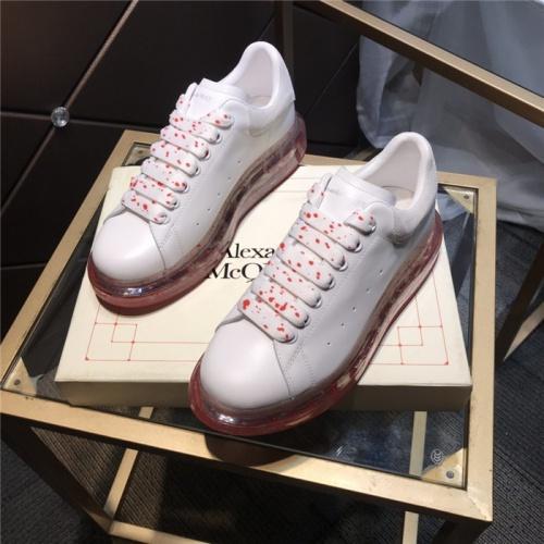 Alexander McQueen Casual Shoes For Women #805924