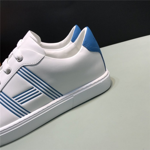 Replica Hermes Casual Shoes For Men #805954 $73.72 USD for Wholesale