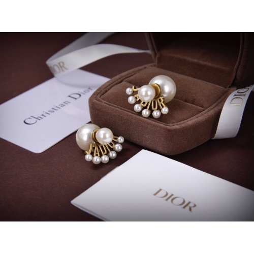 Christian Dior Earrings #805990 $28.13, Wholesale Replica Christian Dior Earrings