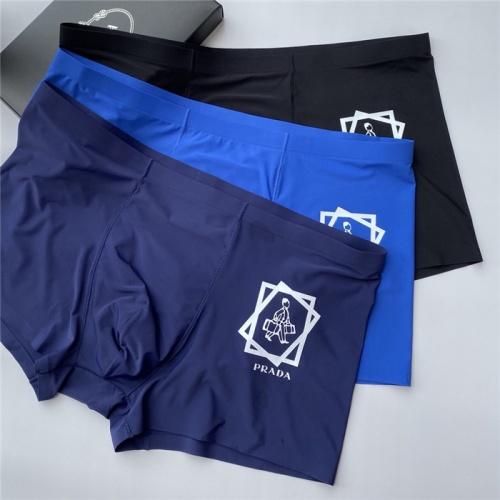 Prada Underwears Shorts For Men #806067