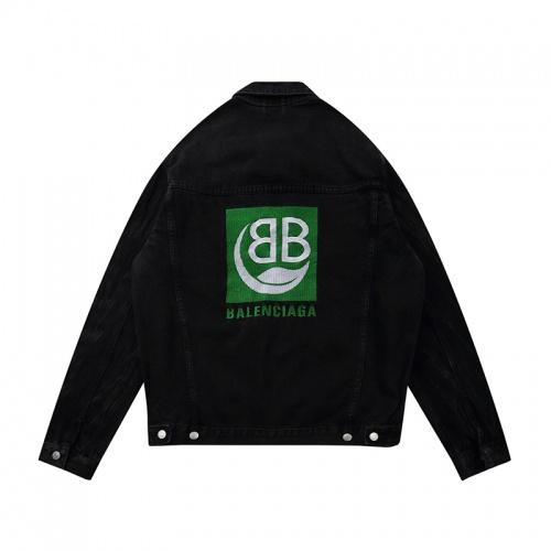 Balenciaga Jackets Long Sleeved Polo For Men #806072