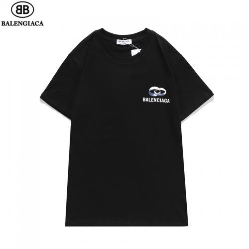 Balenciaga T-Shirts Short Sleeved O-Neck For Men #806077