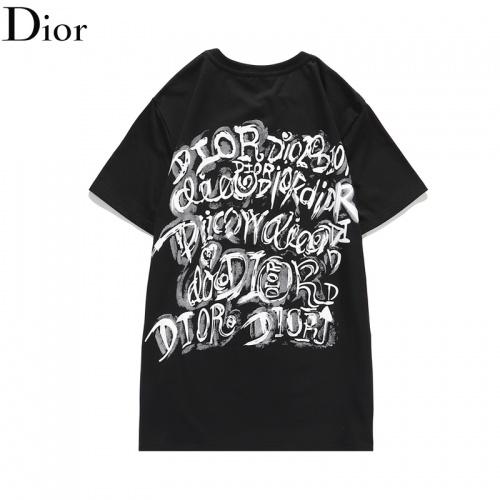 Christian Dior T-Shirts Short Sleeved O-Neck For Men #806087