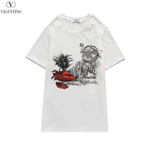 Valentino T-Shirts Short Sleeved O-Neck For Men #806111 $26.19, Wholesale Replica Valentino T-Shirts