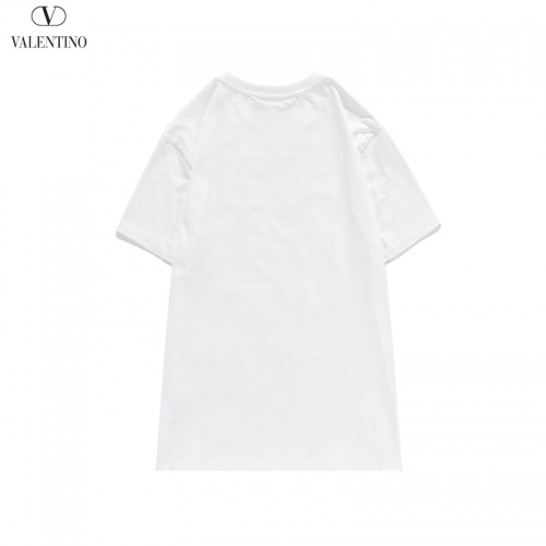 Replica Valentino T-Shirts Short Sleeved O-Neck For Men #806111 $26.19 USD for Wholesale