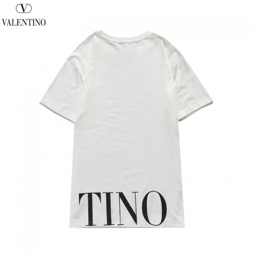 Replica Valentino T-Shirts Short Sleeved O-Neck For Men #806113 $26.19 USD for Wholesale