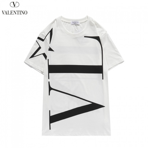 Valentino T-Shirts Short Sleeved O-Neck For Men #806114 $28.13, Wholesale Replica Valentino T-Shirts