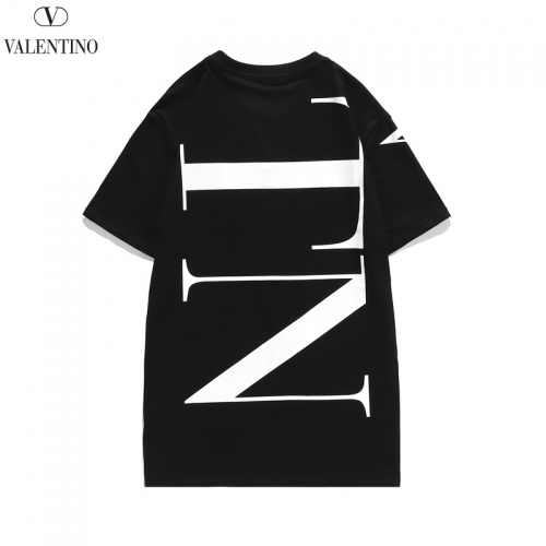 Replica Valentino T-Shirts Short Sleeved O-Neck For Men #806115 $28.13 USD for Wholesale