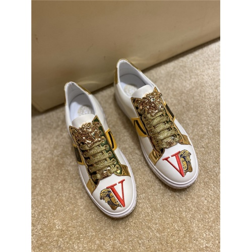 Replica Versace Casual Shoes For Men #806116 $69.84 USD for Wholesale