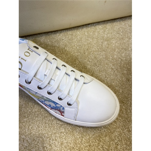 Replica Christian Dior Casual Shoes For Men #806135 $73.72 USD for Wholesale